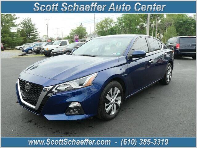 2020 Nissan Altima for sale at Scott Schaeffer Auto Center in Birdsboro PA