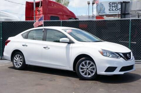 2018 Nissan Sentra for sale at MATRIX AUTO SALES INC in Miami FL