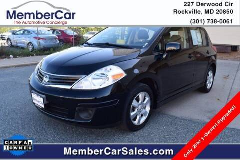 2012 Nissan Versa for sale at MemberCar in Rockville MD