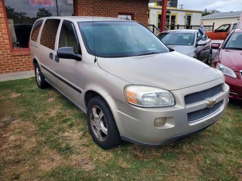 2007 Chevrolet Uplander for sale at Mr VA Auto in Chesapeake VA