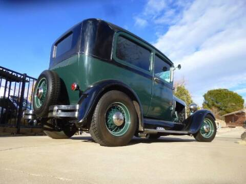 1928 Ford Tudor for sale at Classic Car Deals in Cadillac MI