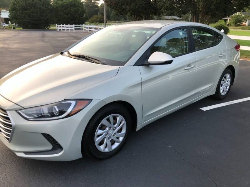 2017 Hyundai Elantra for sale at Global Autos in Kenly NC
