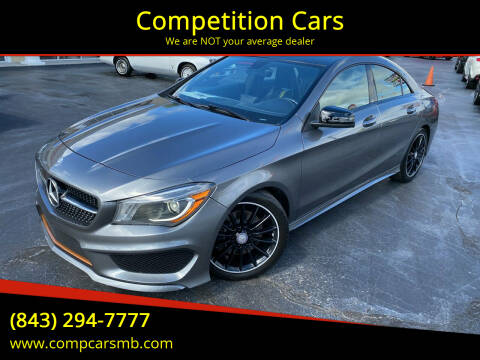 2014 Mercedes-Benz CLA for sale at Competition Cars in Myrtle Beach SC