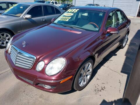 2009 Mercedes-Benz E-Class for sale at DON BAILEY AUTO SALES in Phenix City AL