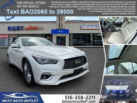 2019 Infiniti Q50 for sale at Best Auto Outlet in Floral Park NY