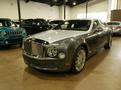 2013 Bentley Mulsanne for sale at Montclair Motor Car in Montclair NJ