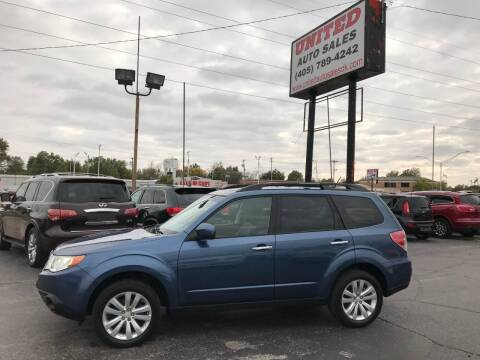 2012 Subaru Forester for sale at United Auto Sales in Oklahoma City OK