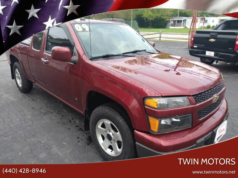 2009 Chevrolet Colorado for sale at TWIN MOTORS in Madison OH