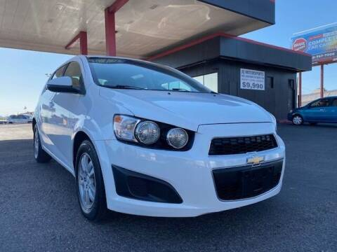 2015 Chevrolet Sonic for sale at JQ Motorsports East in Tucson AZ