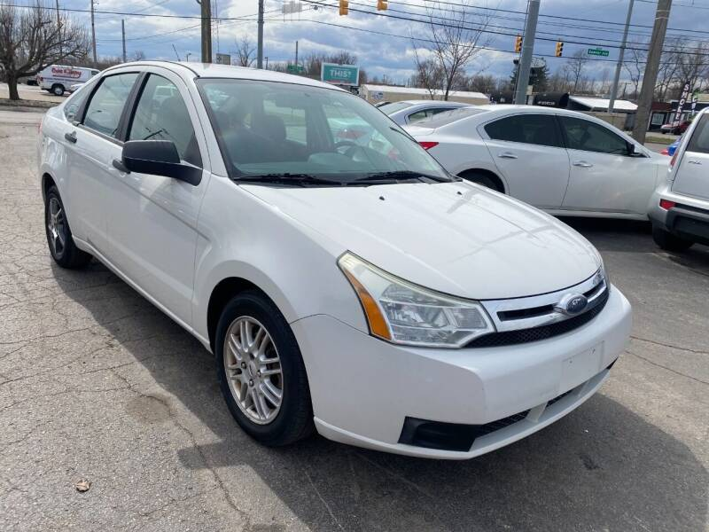 2009 Ford Focus for sale at A Class Auto Sales in Indianapolis IN