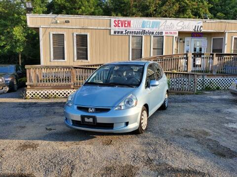 2007 Honda Fit for sale at Seven and Below Auto Sales, LLC in Rockville MD