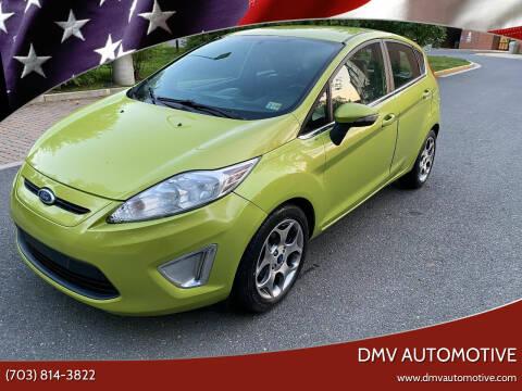 2011 Ford Fiesta for sale at DMV Automotive in Falls Church VA