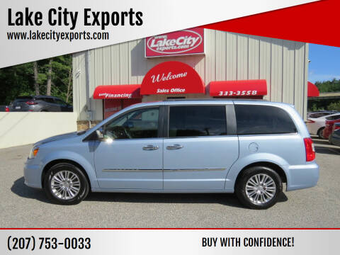 2016 Chrysler Town and Country for sale at Lake City Exports - Lewiston in Lewiston ME