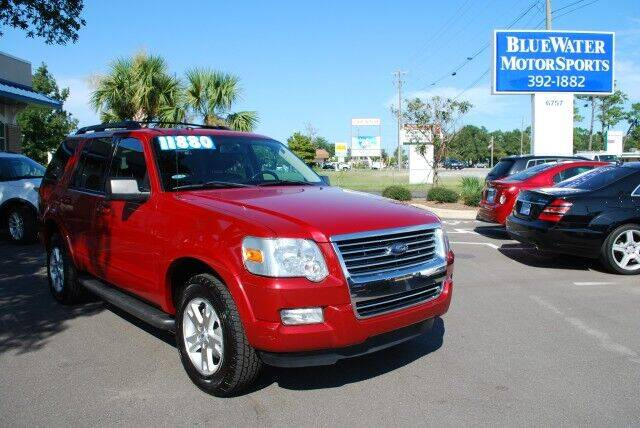 2010 Ford Explorer for sale at BlueWater MotorSports in Wilmington NC