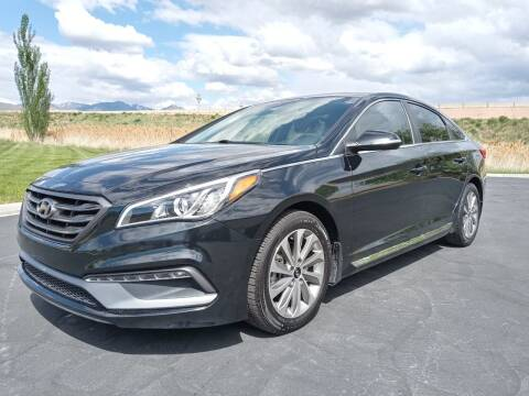 2015 Hyundai Sonata for sale at AUTOMOTIVE SOLUTIONS in Salt Lake City UT