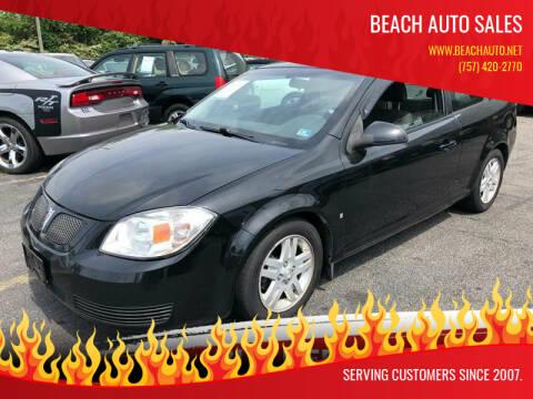 2007 Pontiac G5 for sale at Beach Auto Sales in Virginia Beach VA