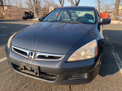 2007 Honda Accord for sale at JerseyMotorsInc.com in Teterboro NJ