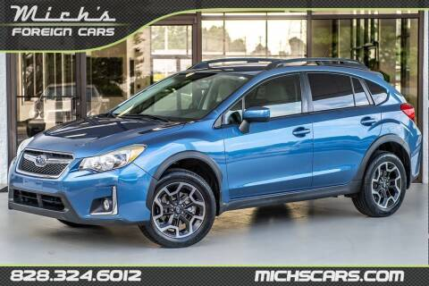 2016 Subaru Crosstrek for sale at Mich's Foreign Cars in Hickory NC