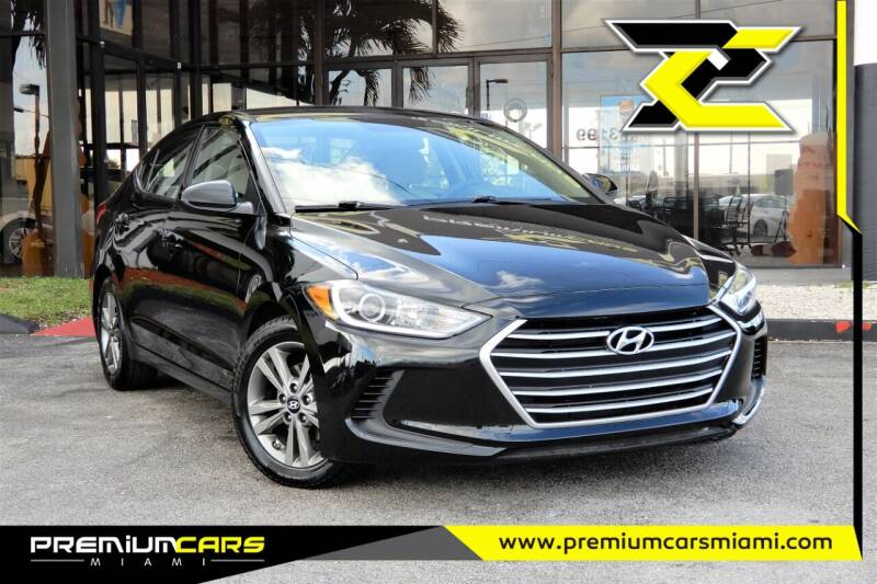 2018 Hyundai Elantra for sale at Premium Cars of Miami in Miami FL