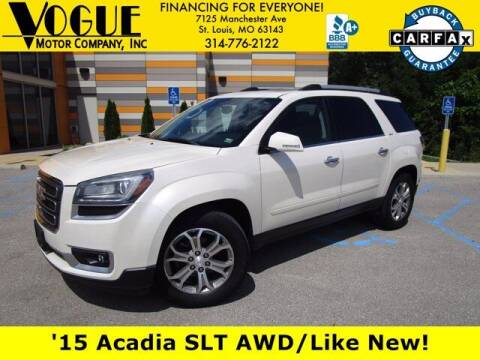 2015 GMC Acadia for sale at Vogue Motor Company Inc in Saint Louis MO