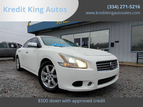2009 Nissan Maxima for sale at Kredit King Autos in Montgomery AL