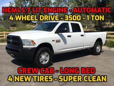 2014 RAM Ram Pickup 3500 for sale at OC Used Auto in Newport Beach CA
