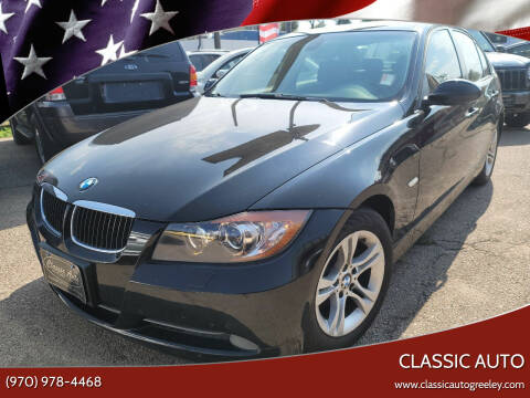 2008 BMW 3 Series for sale at Classic Auto in Greeley CO