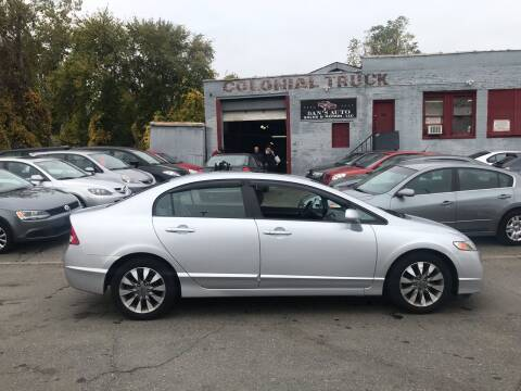 2010 Honda Civic for sale at Dan's Auto Sales and Repair LLC in East Hartford CT