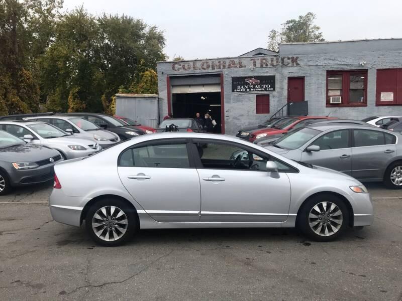 2010 Honda Civic for sale at Dan's Auto Sales and Repair LLC in East Hartford CT