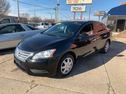 2014 Nissan Sentra for sale at Cars To Go in Lafayette IN