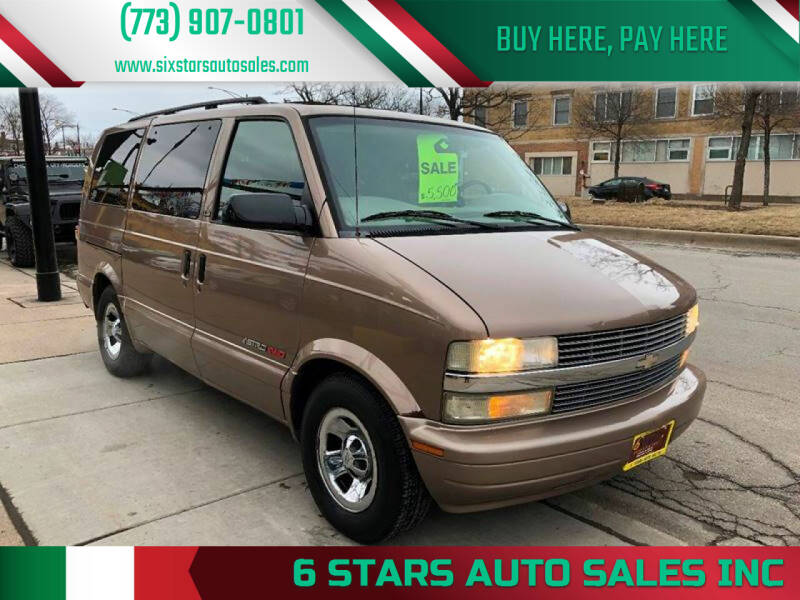 2002 Chevrolet Astro for sale at 6 STARS AUTO SALES INC in Chicago IL