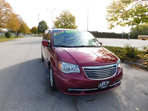 2016 Chrysler Town and Country for sale at Lot 31 Auto Sales in Kenosha WI