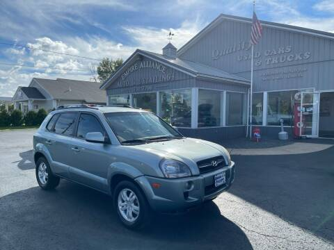 2007 Hyundai Tucson for sale at Empire Alliance Inc. in West Coxsackie NY