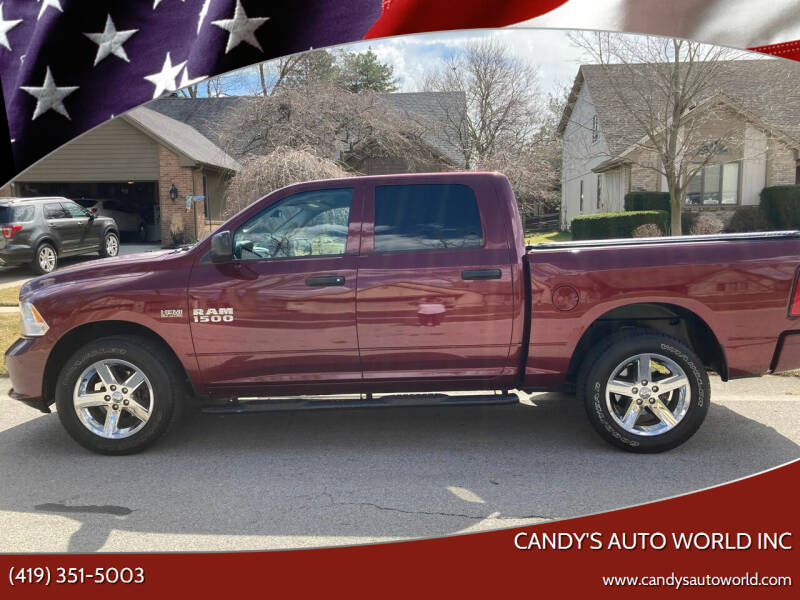 2017 RAM Ram Pickup 1500 for sale at Candy's Auto World Inc in Toledo OH