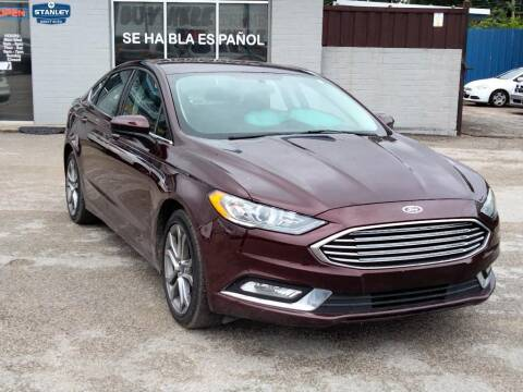 2017 Ford Fusion for sale at Stanley Direct Auto in Mesquite TX