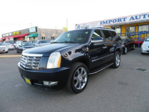 2007 Cadillac Escalade for sale at Import Auto World in Hayward CA