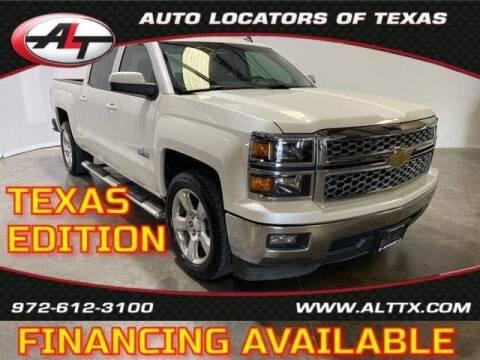2014 Chevrolet Silverado 1500 for sale at AUTO LOCATORS OF TEXAS in Plano TX