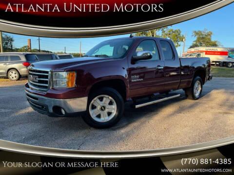 2013 GMC Sierra 1500 for sale at Atlanta United Motors in Jefferson GA