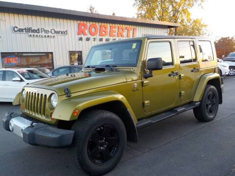 2008 Jeep Wrangler Unlimited for sale at Roberti Automotive in Kingston NY