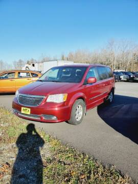 2012 Chrysler Town and Country for sale at Jeff's Sales & Service in Presque Isle ME