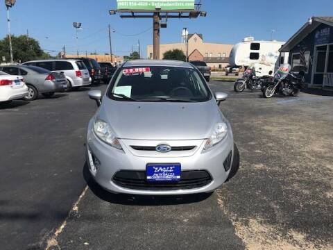 2012 Ford Fiesta for sale at EAGLE AUTO SALES in Lindale TX