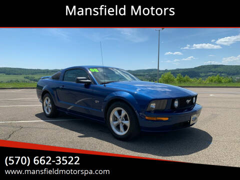 2008 Ford Mustang for sale at Mansfield Motors in Mansfield PA