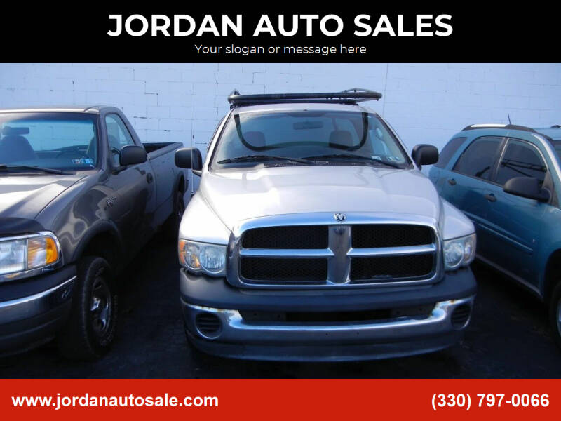 2004 Dodge Ram Pickup 1500 for sale at JORDAN AUTO SALES in Youngstown OH
