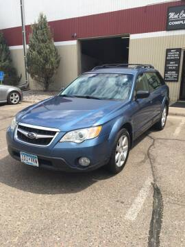 2008 Subaru Outback for sale at Specialty Auto Wholesalers Inc in Eden Prairie MN