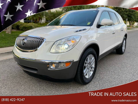 2012 Buick Enclave for sale at Trade In Auto Sales in Van Nuys CA