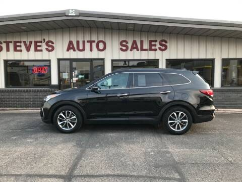 2017 Hyundai Santa Fe for sale at STEVE'S AUTO SALES INC in Scottsbluff NE