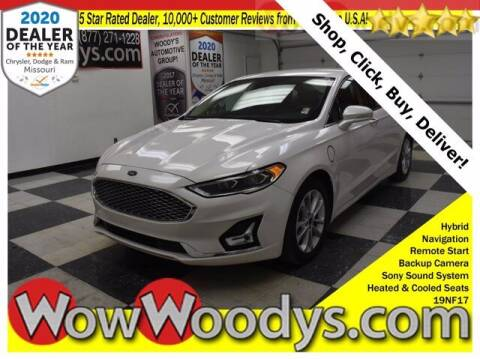 2019 Ford Fusion Energi for sale at WOODY'S AUTOMOTIVE GROUP in Chillicothe MO