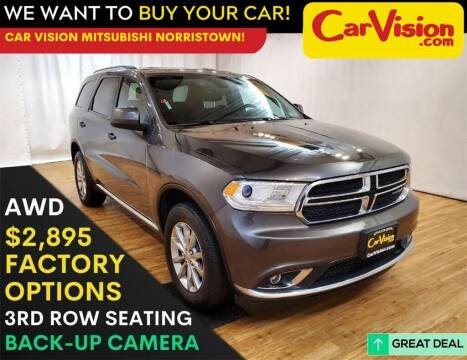 2017 Dodge Durango for sale at Car Vision Mitsubishi Norristown in Trooper PA