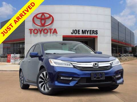 2017 Honda Accord Hybrid for sale at Joe Myers Toyota PreOwned in Houston TX