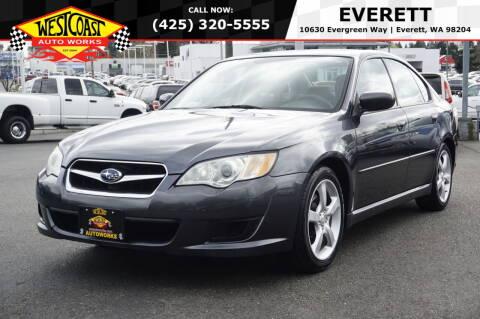 2009 Subaru Legacy for sale at West Coast Auto Works in Edmonds WA